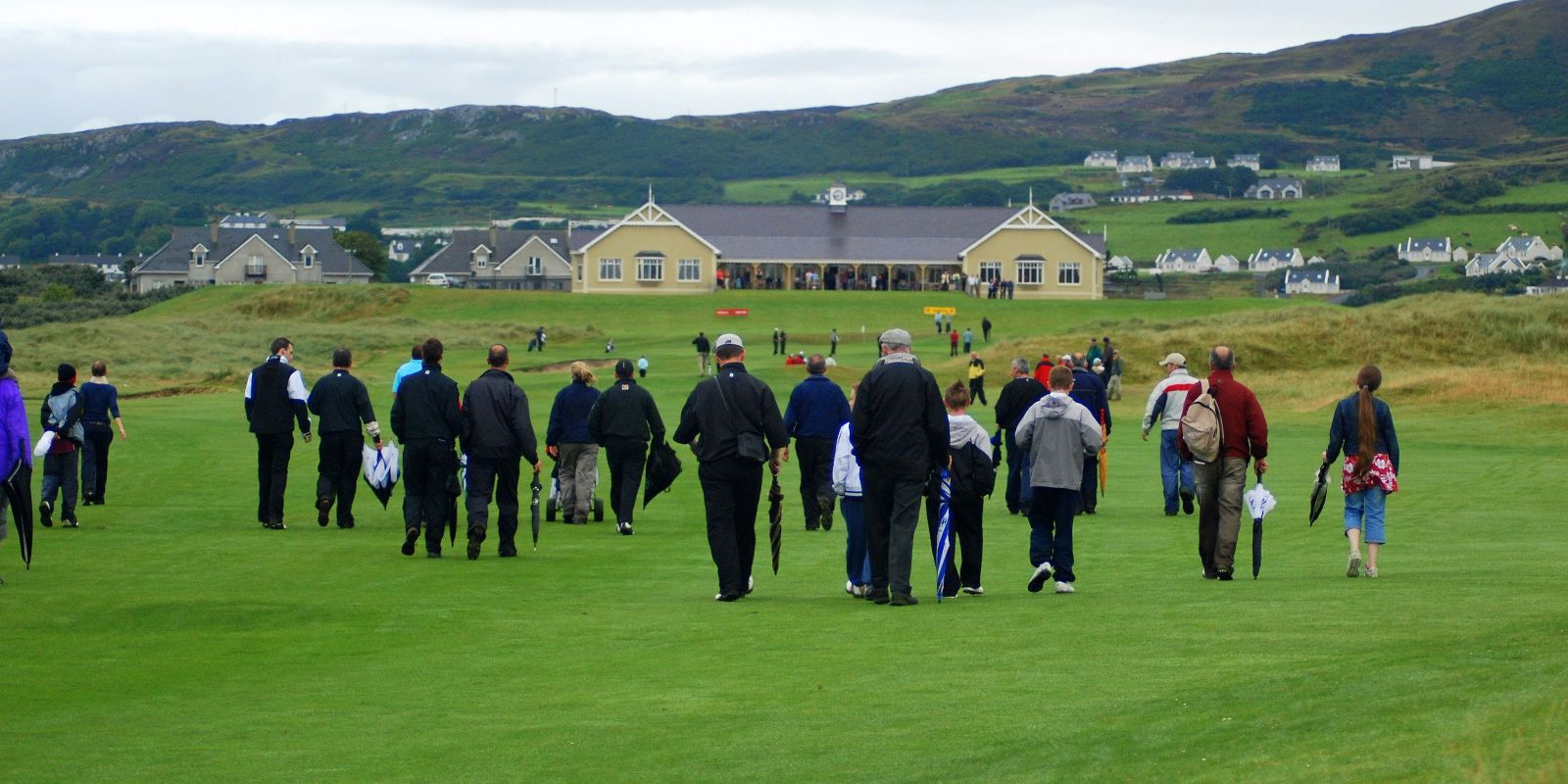 Last group in the 2007 Scratch Cup following Rory McIlroy