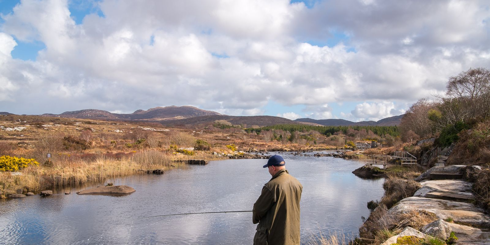 Fishing at Rosapenna