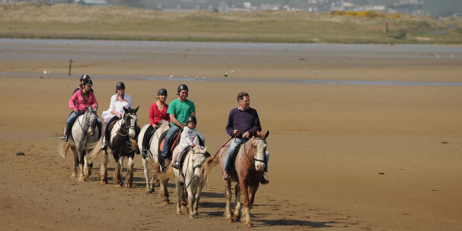 Horseriding at Rosapenna